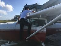 外部点検から - ENJOY FLYING ~ セブの空