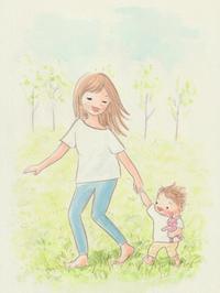 ママの天使 - 一天一画   Yuki Goto