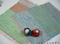 生徒さんの作品です。 - アトリエひなぎく 手織り日記