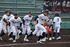 第49回春季大会京都府支部予選準決勝vs二条ボーイズ2 - 福知山ボーイズクラブ