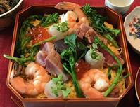 友達のお誕生日祝いのランチはちらし寿司 - やせっぽちソプラノのキッチン2
