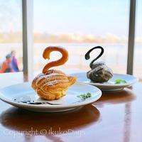 〈週末trip〉茨城歴史漫遊。偕楽園見学の後は、白鳥を見ながらスワンシューを頬張る:『好文Cafe』水戸 - IkukoDays