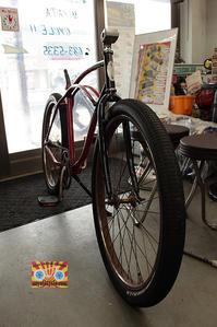700cのフォークに、26インチタイヤが付いていて、ブレーキはどうする・・・? - みやたサイクル自転車屋日記