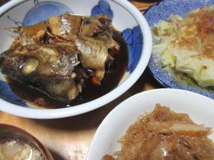 助惣鱈の煮付け -