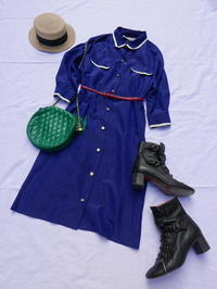 Coodinate shirts onepiece - carboots
