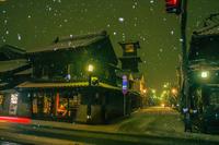雪の降った街の思い出、川越 - デジカメ写真集