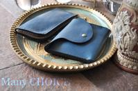 イタリアンレザー・アリゾナ新作ミニマム財布とL型ペンケース - 時を刻む革小物 Many CHOICE~ 使い手と共に生きるタンニン鞣しの革