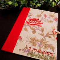 『バインダー』 - カルトナージュ教室 ~ La fraise blanche ~