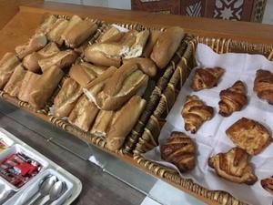 ホテルオアシアンでの朝食 -