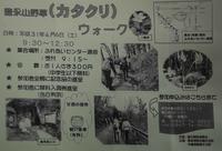 豊永山野草「カタクリ」ウオーク開催のご案内 - 気ままな Digital PhotoⅡ