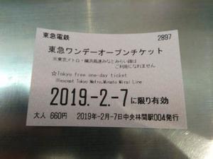 東急線1日乗車券の旅ー4 - 自分の「好き」を追求する(日記)