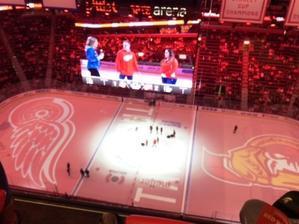 Little Caesars ArenaでNHL観戦 -
