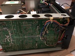 SANSUI AU-D607G...プロテクター解除不能...31.2.19...分解...002 - aquaの神が舞い降りた日・・・