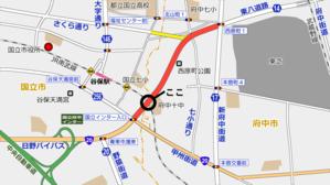 東八道路(仮称)JR南武線跨線橋は橋桁を架設中 - 俺の居場所2