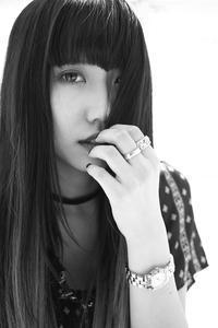 成美ちゃん10 - モノクロポートレート写真館