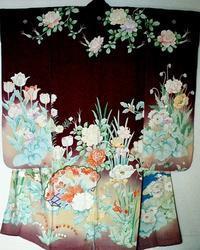 1日イベント講座「着物に描かれたバラの世界~大正ロマン・昭和モダン」のお知らせ - 元木はるみのバラとハーブのある暮らし・Salon de Roses