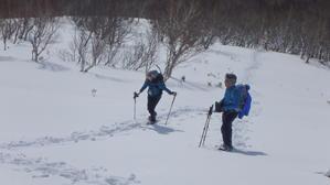 稀府岳、2019.2.15ー同行者からの写真ー - デジカメ持って野に山に