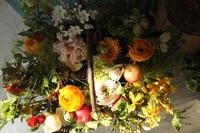 改装のお祝いの花 - 北赤羽花屋ソレイユの日々の花