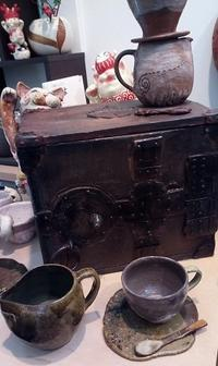 ■金庫が焼きあがってきました■ - ちょこっと陶芸