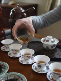 2月のおもてなしの中国茶レッスン - お茶をどうぞ♪