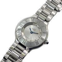 カルティエの時計、マスト21をお買取りいたしました。 - ブランド品、時計、金・プラチナ、お酒買取フリマハイクラスの日記