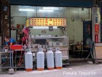 台湾3日目✩食堂の朝ご飯、台北橋から基隆へ移動 - 酒飲みパンダの貧乏旅行記 第二章