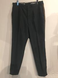 USED SWISS NARROW RESIZED LINED DRESS PANTS - Safari ブログ