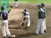 キャンプ走塁練習、山田・西浦・山崎選手の本塁へのスライディング(連写GIF3) - Out of focus ~Baseballフォトブログ~ 2019年終了