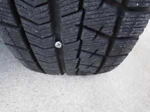 タイヤのパンク - ゆきだより。。日々つれづれ