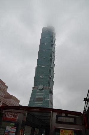 台湾旅行3日目台北101・路地 氷の怪物・市林夜市・サプライズ -