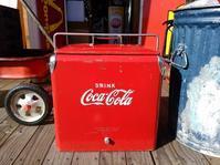 1950's Coca-Colacooler box - OIL SHOCK ZAKKA
