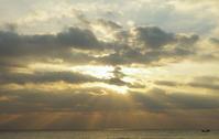 天使の梯子p - 雲空海