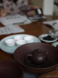 工夫茶でいただく - お茶をどうぞ♪