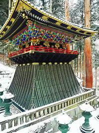 雪の鐘楼 - 風の香に誘われて 風景のふぉと缶