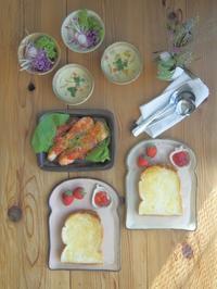 いちごジャムトースト朝ごはん - 陶器通販・益子焼 雑貨手作り陶器のサイトショップ 木のねのブログ