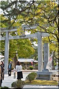 松蔭神社狛犬山口県萩市 - 北海道photo一撮り旅