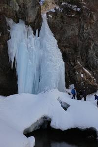 2/17日光・庵滝=凍った滝を見に行く= - そらいろのパレット