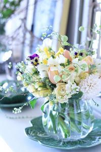パステルカラーのお花を集めて♡ - Le vase*  diary 横浜元町の花教室