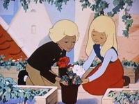 雪の女王DVDから - るっこら * ひとり言