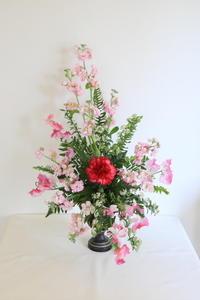 2月のNHK文化センター高等科の花は「ダイアゴナル」 - クレッセント日記