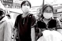 マスクと匿名 - 写真家藤居正明の東京漫歩景