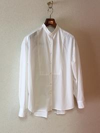 ヨーク切り替えスタンドシャツ - むらさきのいと