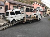 伊豆市から車検切れ不動車をレッカー車で廃車の引き取りしました。 - 廃車戦隊引き取りレンジャー