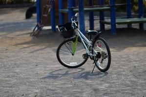 公園の自転車 - エンジェルの画日記・音楽の散歩道