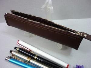 ペンケースcute & compact・・4本用 - 革小物 paddy の作品