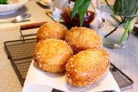ファミリーコースⅡカレーパンおもち - 小麦の時間   京都の自宅にてパン教室を主宰(JHBS認定教室)