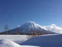 冬の羊蹄山 - かかさんの気まぐれ日記