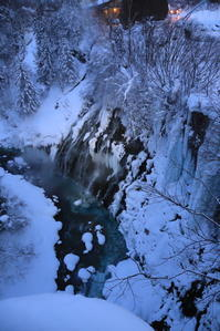 【白ひげの滝】北海道旅行 - 4 - - うろ子とカメラ。