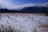 戦場ヶ原からこんにちは冬の枯野 - 風の香に誘われて 風景のふぉと缶