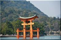 厳島神社(1)狛犬広島県 - 北海道photo一撮り旅